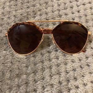 Loft Aviator Sunglasses